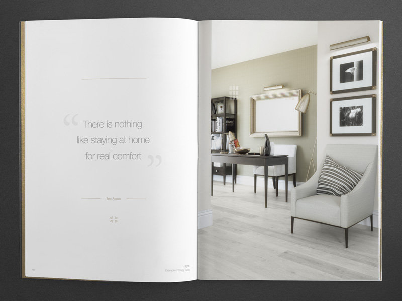 bespoke property brochure interior visualisation