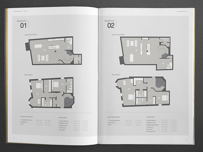 bespoke property brochure floor plans