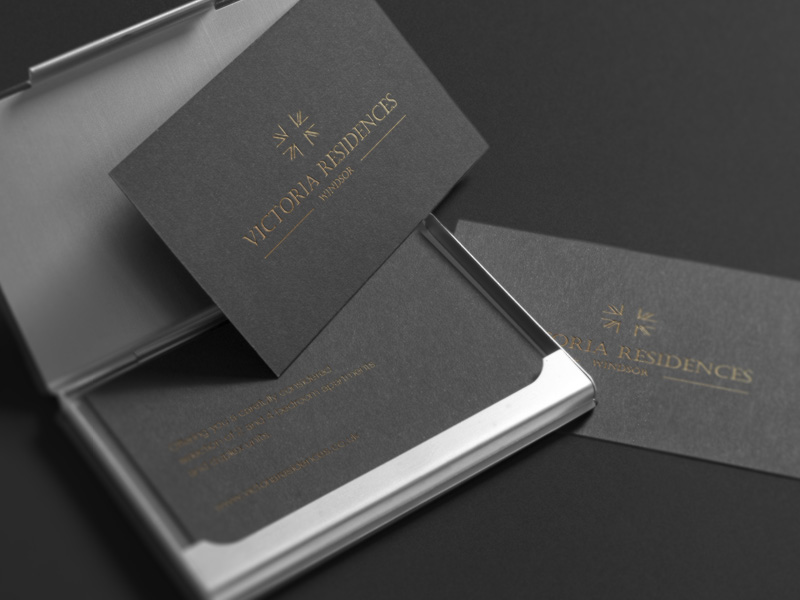 bespoke property brochure stationery