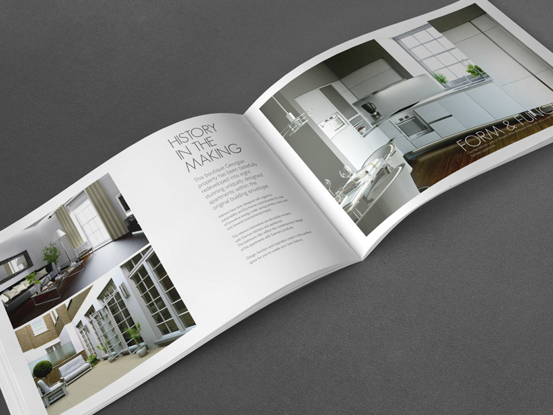 High end Property Brochure design