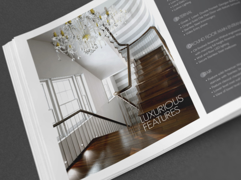 High end Property Brochure CGI