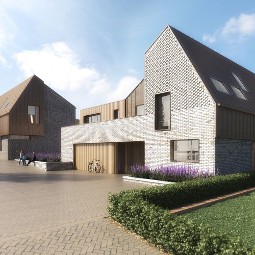 new homes architectural visualisation