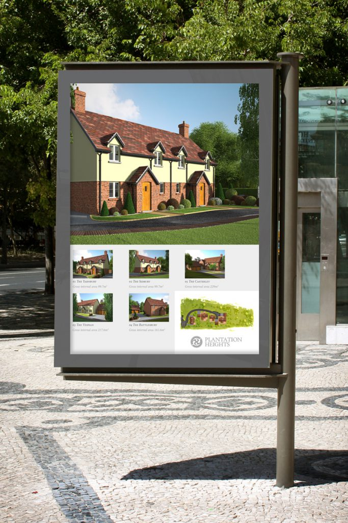 property development sales signage