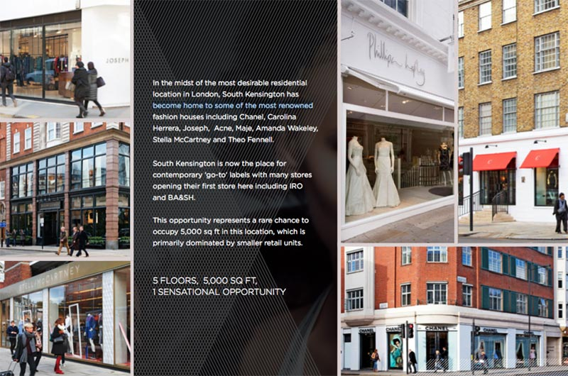 design fulham road commercial presenter document savills